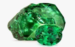 Тсаворит (цаворит) – камень брачных уз