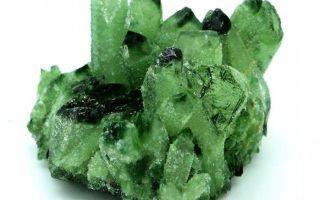 Зеленый кварц (празем) – целебный камень греков