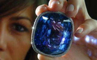 Сколько стоит драгоценный камень сапфир