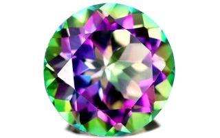 Топаз Мистик – уникальный радужный камень