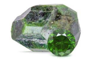 Демантоид – уральский камень королей