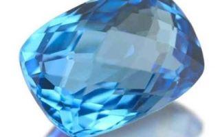 Голубой топаз – камень очищения