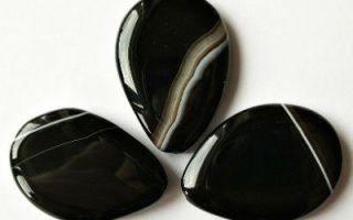 Черный агат – камень магов и чародеев