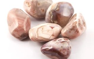 Розовый (персиковый) агат – сердечный камень