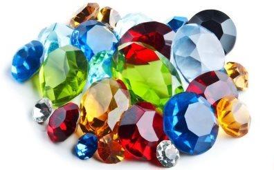 драгоценные камни по цветам