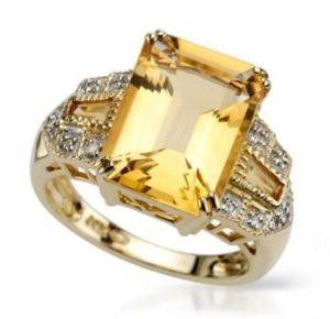 кольцо гелиодор