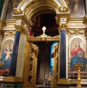 колонны Исаакиевского собора из лазурита