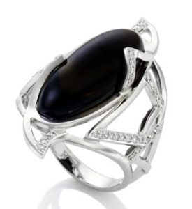 кольцо морион