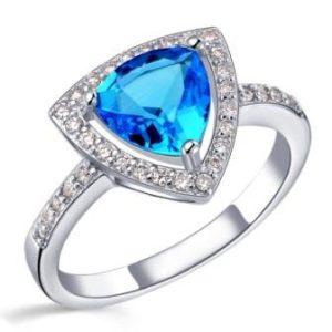 кольцо сапфир