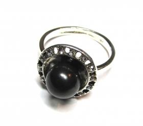 кольцо с шунгитом