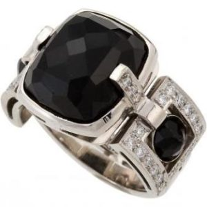 кольцо_черный турмалин