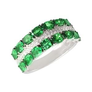 кольцо_зеленый гранат