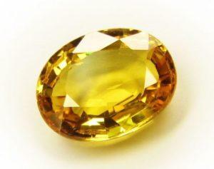 Желтый сапфир – камень полный энергии